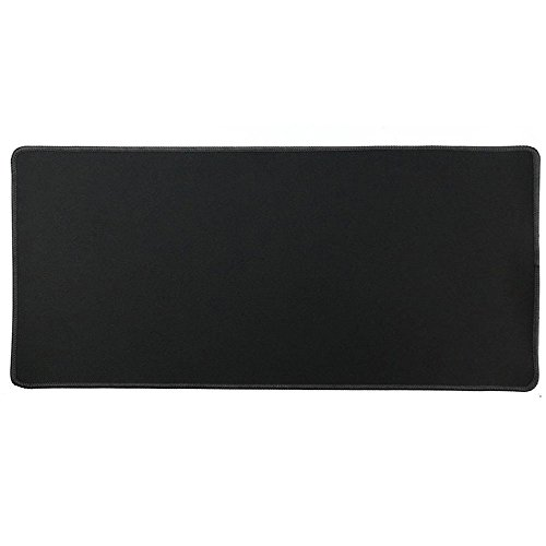 Cmhoo XXL Professional Large Mouse Pad & Computer Game Mouse Mat (35.4x15.7x0.1IN, 90x40 Black)