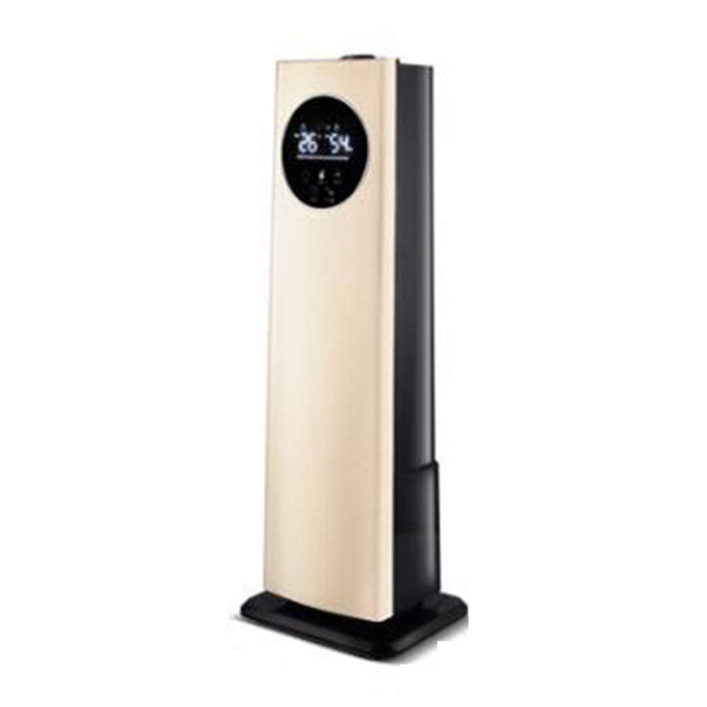 加湿器床タイプインテリジェントで一定の湿度8L大容量の家庭用オフィスミュート妊婦ベビーアロマテラピー空気清浄、ゴールド-8L (色 : Gold-8l, サイズ : -)  Gold-8l B07Q3W95C3