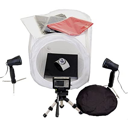 amazon com cowboystudio table top photography studio lighting tent