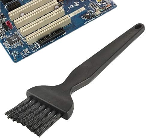 Length 14cm Black CHENZHIQIANG Phone Repair Tools Great Electronic Component 7 Beam Flat Handle Antistatic Cleaning Brush