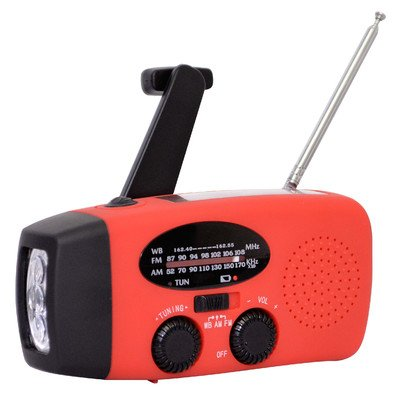 Sportsman Series Rechargeable Weather Radio with Hand Crank