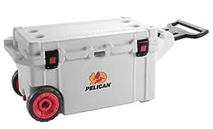 Pelican Elite 45 Quart Cooler (White)