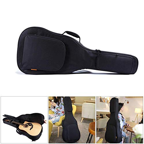 benefit-X 39/40 /41 InchGuitar Bag Thickened Acoustic Guitar Bag Padded Waterproof Dual Adjustable Shoulder Strap Guitar Case with Thickened Handle Neck Cushion Guitar Backpack