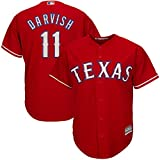Yu Darvish Texas Rangers Red Youth Cool Base Alternate Replica Jersey