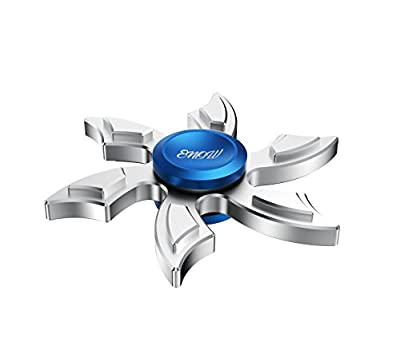 Newest Hands Spinner, Enow Pure Metal High Speed Fidget Focus Toys. Perfect for ADHD, EDC Children and Adults to Increase Concentration, Quit Bad Habits. Spins Metal Average 1-5 Minutes by Enow that we recomend personally.