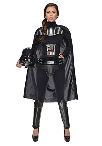 Rubie's Star Wars Darth Vader Woman's Deluxe Costume Jumpsuit, Multicolor, Medium