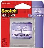 "Bulk Buy: 3M Scotch Tear By Hand Packaging Tape 1.88""X629"" 3841-3M (6-Pack)"