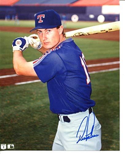 Dean Palmer Signed Photo 8x10 Autographed Rangers 44156