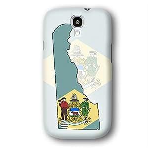 Delaware USA State Flag Samsung Galaxy S4 Slim Phone Case