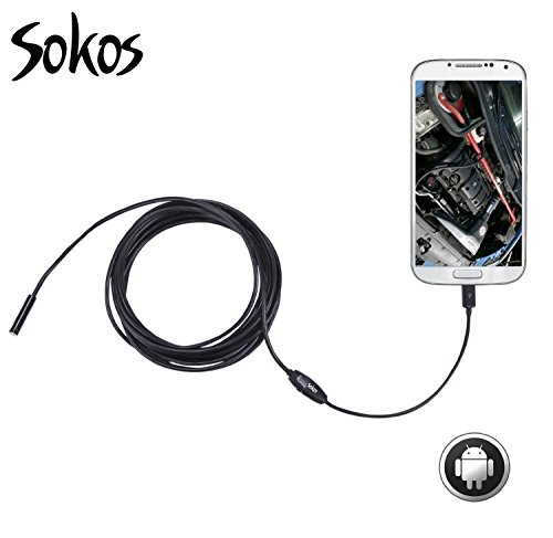 inspection camera  snake camera  sokos micro usb borescope waterproof endoscope for laptops and
