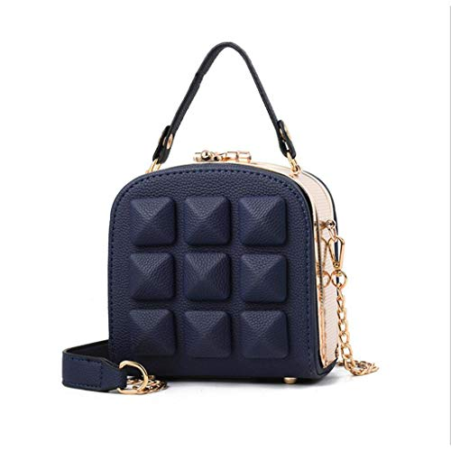 Party Clutch Square Bride Clutch Blue red Elegant Handbag Package Bag Small Women's Dinner qWnEcc8T