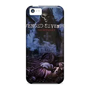 Iphone 5c Jxb13881uszz Customized High-definition Avenged Sevenfold Pictures Bumper Hard Cell-phone Case -DannyLCHEUNG