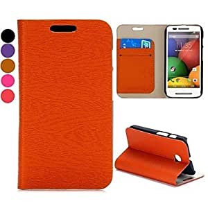 Solid Color PU Leather Full Body Case with Stand and Slot for LG L5 II (Assorted Colors)