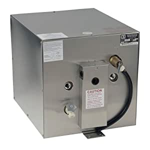 "''Whale"" Seaward 11 Gallon Hot Water Heater W/Rear Heat Exchanger - Stainless Steel - 120v - 1500w"