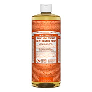 Dr. Bronner's Magic Soaps Pure-Castile Soap,...