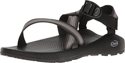 Chaco Men's Z1 Classic Sport Sandal, Split Gray, 10 W US (Sandals Mens Classic)