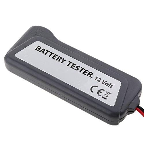 Sharplace Voiture Testeur de Charge Batterie 12V LED Écran Universel delicate