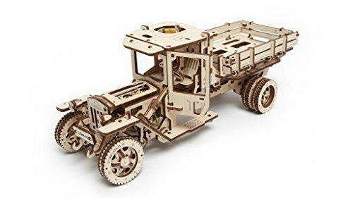 UGEARS 3D Self Propelled Wooden Model UGM 11 Truck 3