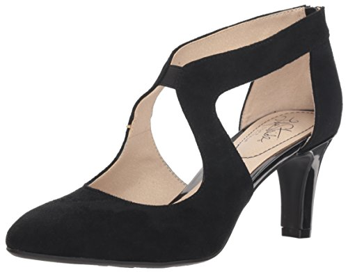 LifeStride Women's Giovanna 2 Pump, Black, 9 W US