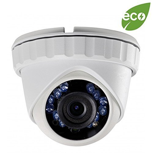 LTS Platinum 2MP 1080p HD-TVI Eyeball IR Turret Camera: 3.6mm, White, 65 ft Infrared, IP66, 12v DC, ICR, OSD/UTC, 3yr For Sale