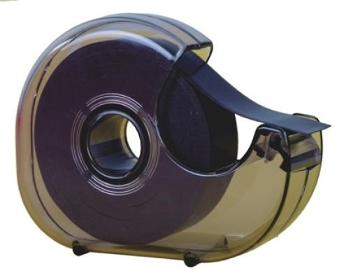 TimeTex Magnet-Streifen-Abroller - selbstklebend - 19 mm x 8 m - Magnetband im praktischen Spender - Magnetklebeband - 93287