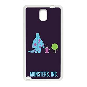 Happy Monsters, Inc. Cell Phone Case for Samsung Galaxy Note3