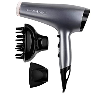 Secador de pelo con difusor Remington Keratin Protect