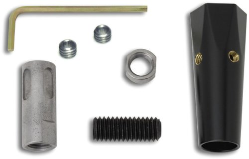 Lokar XSK-6879 Black Shift Knob Adapter for 3/8-24 Knob