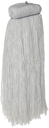 Zephyr 57605 Econo-Ray 4-ply Synthetic Cotton #32 Economy Cut End Screwflat Mop Head (Pack of 12) by Zephyr