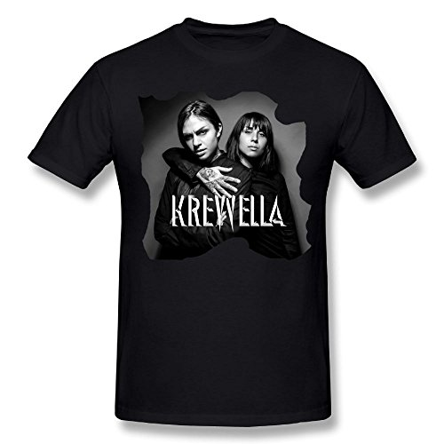 RobertJ.Rivera Mans Krewella Shopping Cotton Breathable Adult T Shirts Gift XL by RobertJ.Rivera (Image #2)