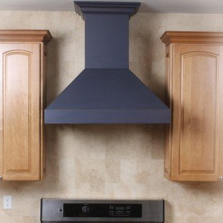 Z Line 8597B-36 36'' 900 CFM Designer Series Wall Mount Range Hood, Oil-Rubbed Bronze by Z-Line