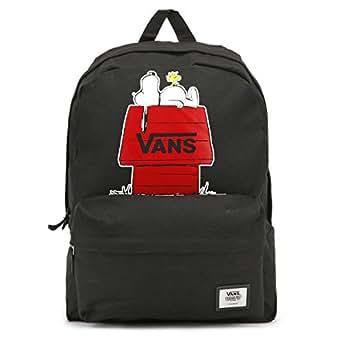 Amazon.com | Vans Peanuts Black Realm Backpack | Kids
