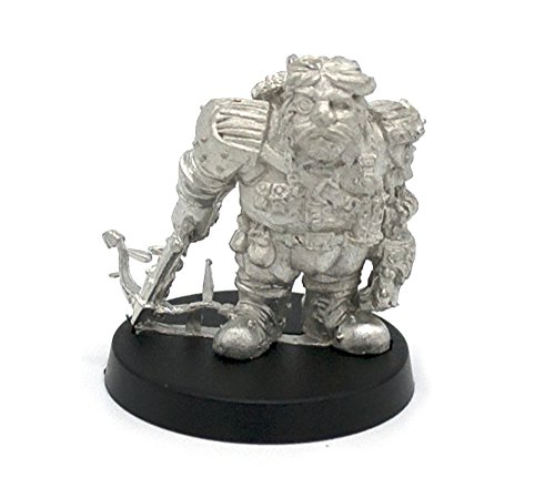 Stonehaven Dwarf Mechanist Miniature Figure (for 28mm Scale Table Top War Games) - Made in USA 3