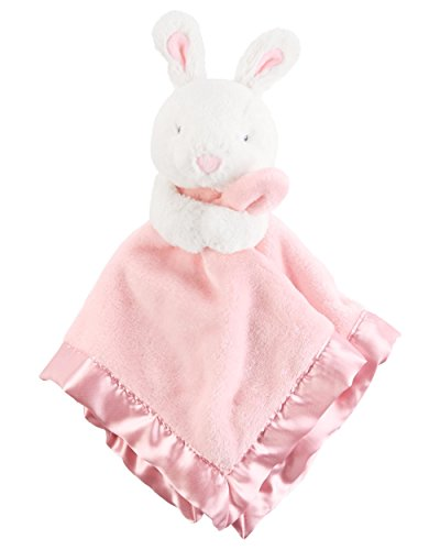 Carter's Bunny Security Blanket, Pink/White (Carters Bunny Blanket)