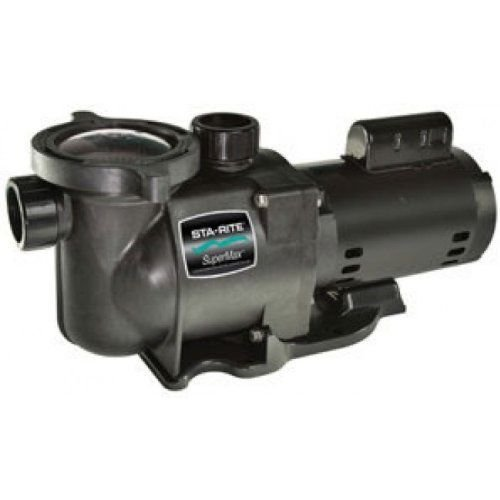 Pentair PHK2RA6G-104L Single Speed 2HP Super Max Pump by Pentair