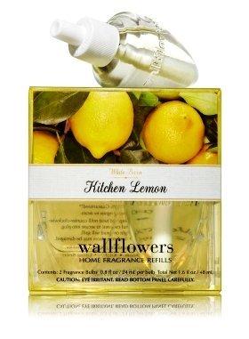 Bath and Body Works Kitchen Lemon Wallflower Home Fragrance Refills
