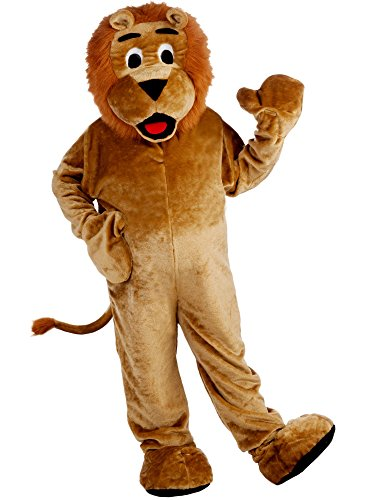 Mens Lion Costume Ideas (Deluxe Lion Mascot Costume for Men)