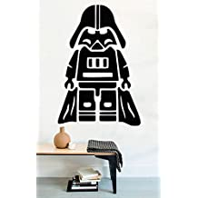 Lego Star Wars Vinyl Wall Decals Movie Film Funny Darth Vader Stickers Vinyl Murals Removable Decors MK1993
