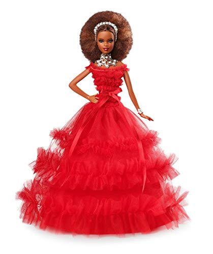 Barbie 2018 Holiday Doll, Brunette