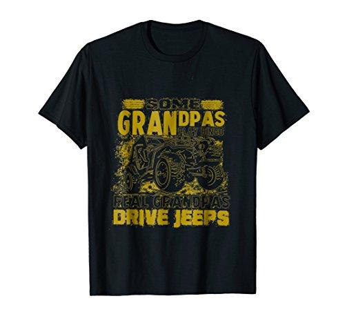 Cool grandpas drive jeeps Shirt