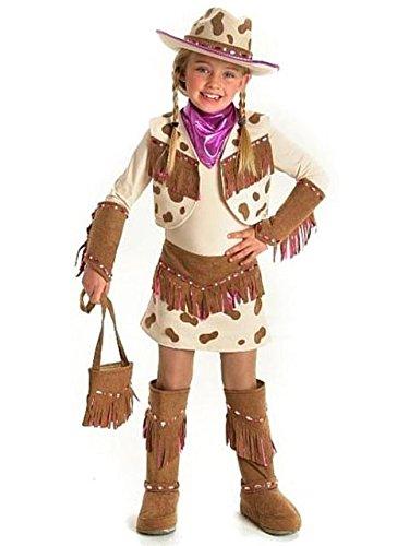 Princess Paradise Kids Rhinestone Cowgirl Costume, Medium, -