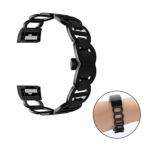 CUZOW Replacement Watch Bands for Fitbit Charge 2