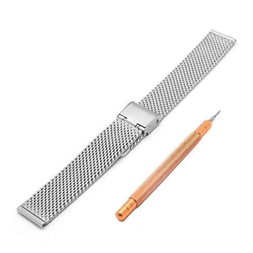 how to clean stainless steel mesh watch band