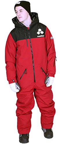 Oneskee Mark III Men Boarding Snowsuit Pepper Red