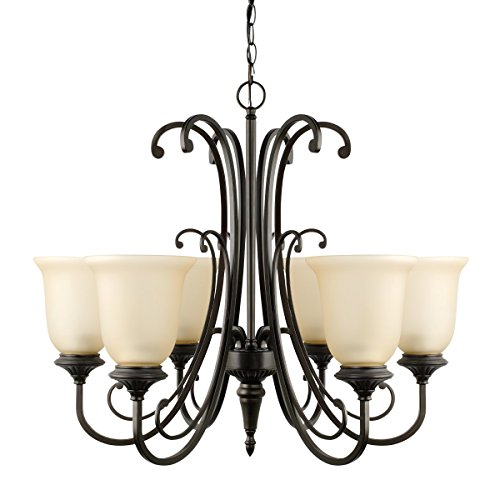 Globe Electric 65571 Beverly Chandelier