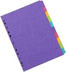 Concord Classic Archiv-Ablagebox mit Verschluss und Fingerzugschlaufe 75/mm R/ücken Folio-Format 5 St/ück farblich sortiert
