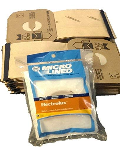(24 Electrolux C Bags and 2 After Filters)