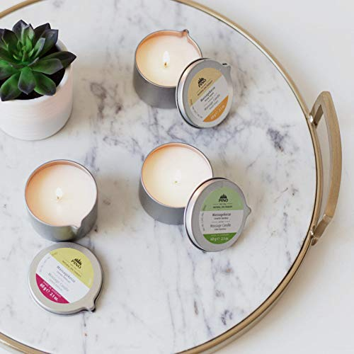 PINO Natural Spa Therapy Scented Massage Candles