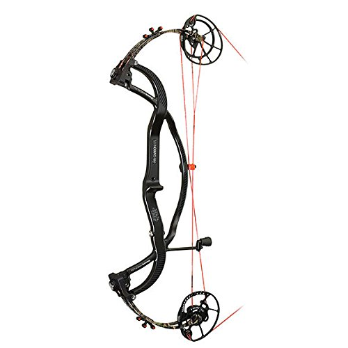 3. PSE Carbon Air Black & Camo Compound Bow