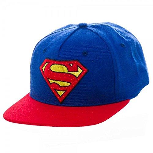 Superman Suit Up Inspired Acrive Baseball Cap (Superman Fiber Optic)